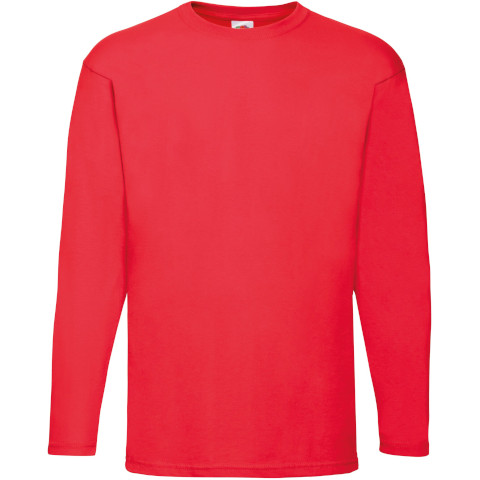 Valueweight Long Sleeve T-Shirt Fruit of the Loom